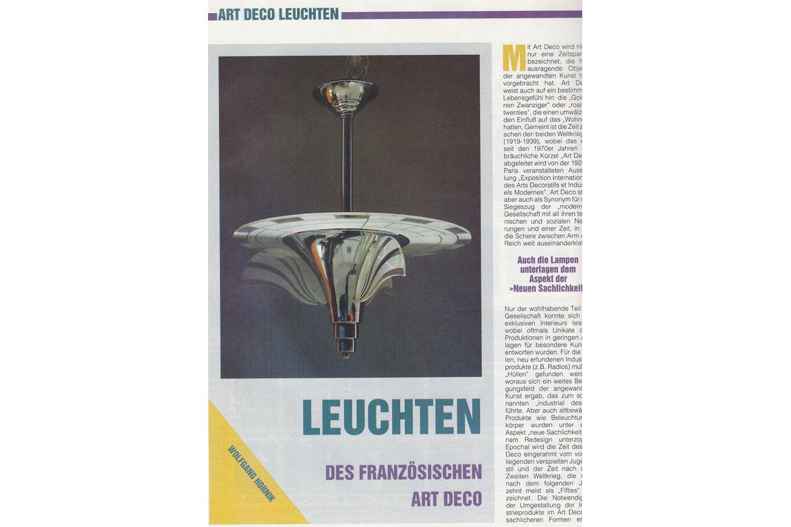 Art Deco Leuchten - Style Deco - Art Deco und Design in München